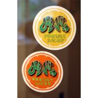 Dodo Juice - Freshly Juiced Sticker Orange