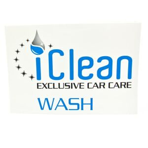 iClean - iBucket Sticker Wash