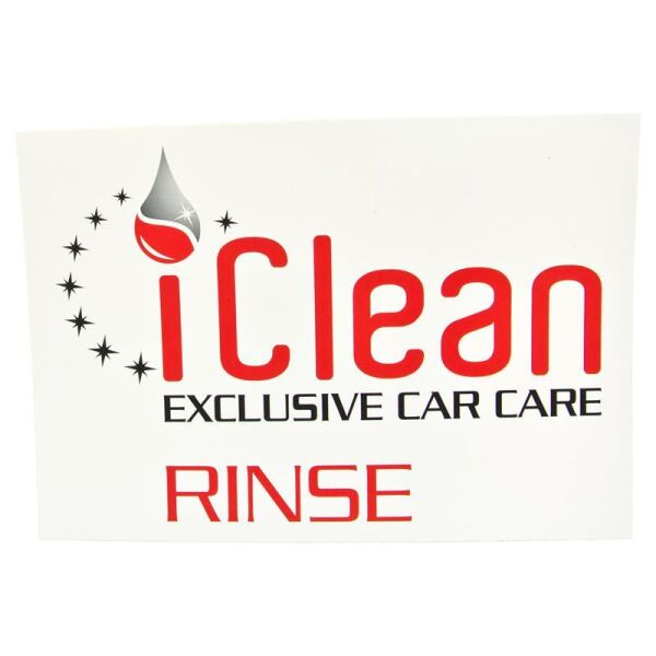 iClean - iBucket Sticker Rinse