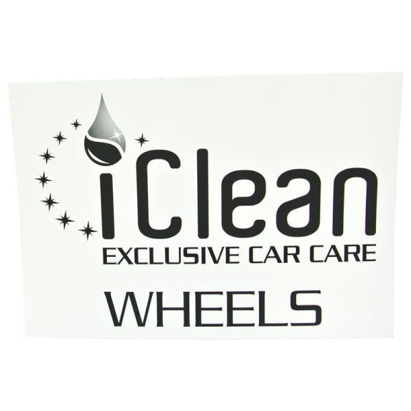 iClean - iBucket Sticker Wheels