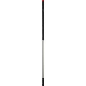 Vikan - Aluminiumsstiel, Ø31mm, 1505mm, Schwarz