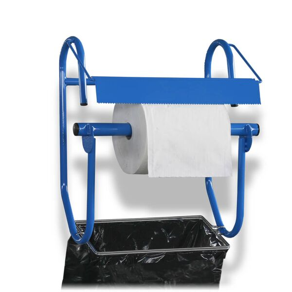zetMatic - Wall holder with garbage bag holder for 42cm roll width