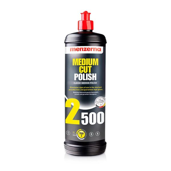 Menzerna - MCP2500 Medium Cut Polish 2500 1L