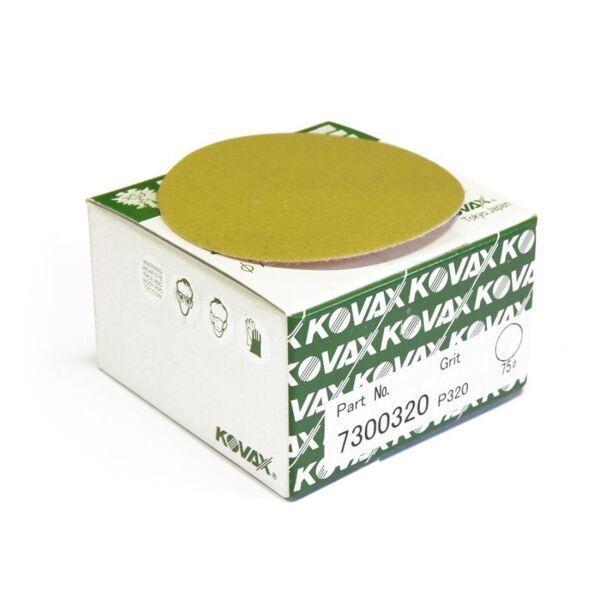 Kovax - Premium Super Tack Scheiben 75mm P320 50 Stk