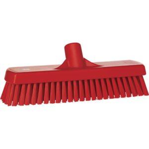 Vikan - Wall-/Floor Washing Brush, 305mm, hard, Red