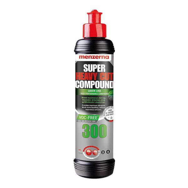 Menzerna - SHCC300 Super Heavy Cut Compound 300 Green Line VOC-Frei 250ml