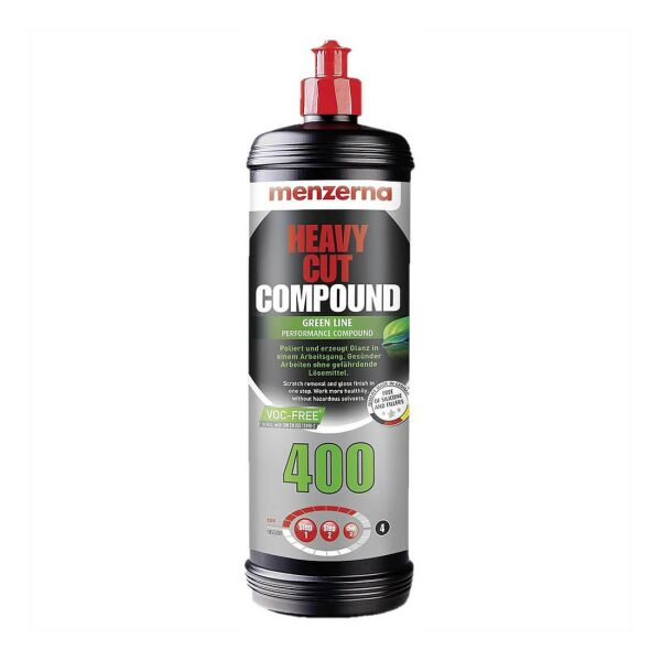 Menzerna - HCC400 Heavy Cut Compound 400 Green Line VOC-Frei 1L