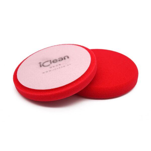 iClean - iPolish - Heavy Cut Pad Red