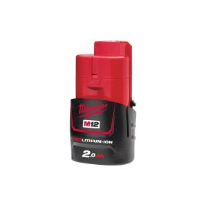 Milwaukee - M12 B2 Akku Red Li-Ion 2.0 Ah