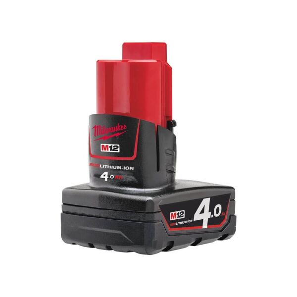 Milwaukee - M12 B4 Akku Red Li-Ion 4.0 Ah