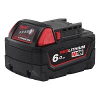 Milwaukee - M18 B6 Akku Red Li-Ion 6.0 Ah