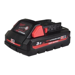 Milwaukee - M18 HIGH-OUTPUT HB3 Akku Red Li-Ion 3.0 Ah