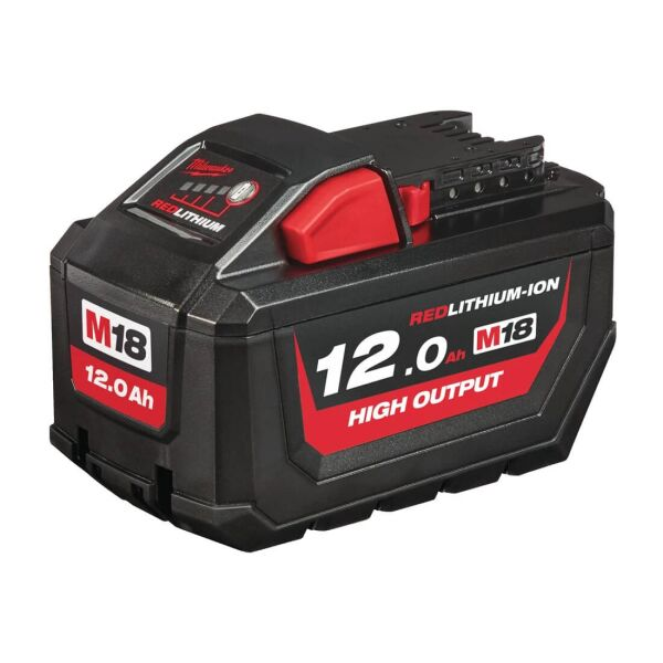 Milwaukee - M18 HIGH-OUTPUT HB12 Akku Red Li-Ion 12.0 Ah
