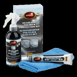 Autosol - Headlight Polish & Protection Kit