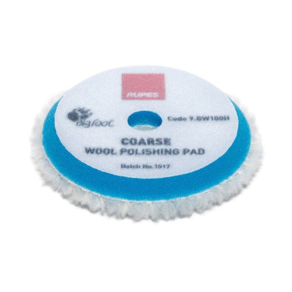 Rupes - Coarse Wool Polishing Pad 90mm