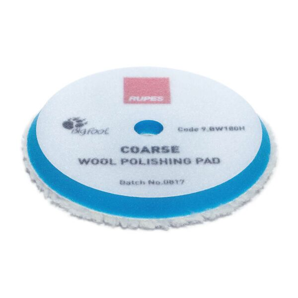 Rupes - Coarse Wool Polishing Pad 150/170mm