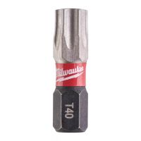 Milwaukee - SHOCKWAVE schlagfeste Schrauberbits TX BO40 x 25mm