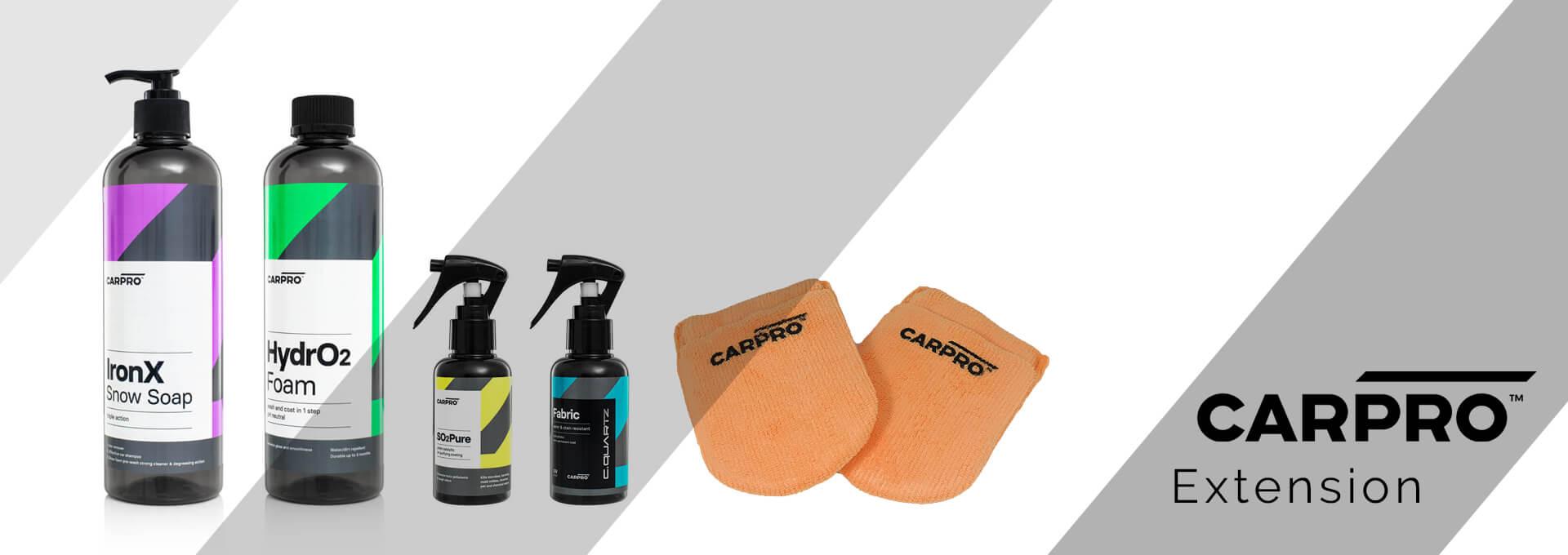 CarPro - Product Range Extension